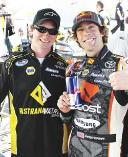 Hubert Rowland and Travis Pastrana